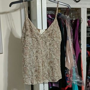 Abercrombie and Fitch Silk Camisole Size M